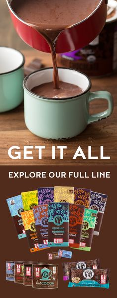 Check out our mouthwatering selection of Fair Trade, organic chocolates and cocoas, sourced directly from small-scale farmers in Latin America. Hot Chocolate Recipes, Chocolate Bars, Chocolate Lovers, Chocolate Chips, Organic Chocolate, Belgian Chocolate, White Chocolate, Party Drinks, Cocktail Drinks
