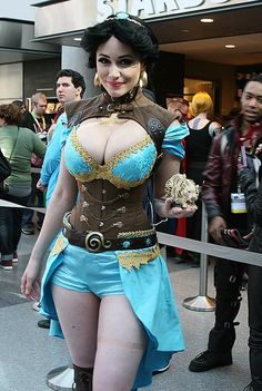26 Eye-Popping Cosplays from New York Comic-Con Jasmine Costume, Steampunk Cosplay, Disney Cosplay, Best Cosplay, Female Cosplay, Cosplay Girls, Cosplay Costumes, Halloween Costumes, Hot Girls