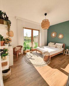 30 Scandinavian Bedroom Ideas to Spark Your Imagination Room Ideas Bedroom, Home Bedroom, Bedroom Decor, Decor Room, Ikea Boho Bedroom, Bedrooms, Aesthetic Room Decor, Dream Rooms, My New Room