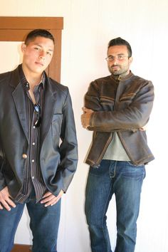 Custom Leather Jackets made to your specifications #mens fashion #mens leather #custom leather #jackie robbins