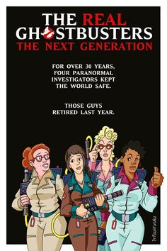 The Real Ghostbusters: The Next Generation by DrFaustusAU on DeviantArt