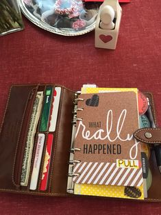 Filofax Malden Personal as wallet & planner
