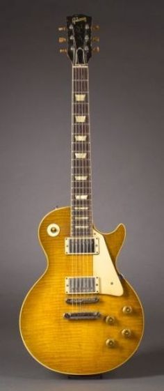 '59 Gibson Les Paul Standard: Set the standard for thousands of guitars today, and have influenced millions of beginners to play guitar, as well as millions of guitarists to write songs!