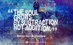 Grows by Subtraction -
