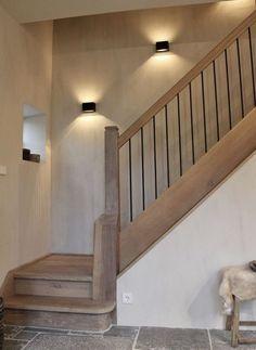 Лестницы В Деревенском Стиле, Современные Лестницы, Дизайн Лестницы, Дизайн Домашнего Интерьера, Стиль Дома, Освещение На Лестнице, Домашний Декор, Лестница На Чердак, Деревянные Лестницы