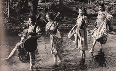 "The Coon Creek Girls.  An all-girl ""string band"" in the Appalacian style of folk music which began in the mid 1930's."