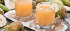 Cómo eliminar toxinas y mejorar la salud con agua de pera – Hoy Aprendí Salud Detox, Pillar Candles, Cantaloupe, Cleanse, Health, Food, Diabetes, Healthy Drinks, Juices