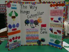 Reading Fair Board- The Very Hungry Caterpillar