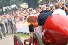 Fiat S76 at Goodwood Festival of Speed 2015