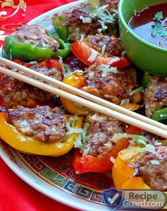 Tasty Chinese Stuffed Peppers | Recipe Guard