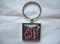 Washington State University Cougars WAZZU WSU by BadCatCraft