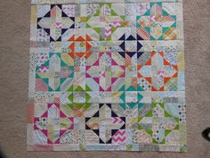 A Quiet (scrap) Riot - Color Girl Quilts by Sharon McConnell