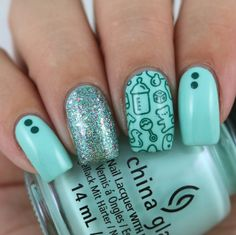 Uberchic Beauty Little Baby Stamping Plate - Swatches & Review by Olivia Jade Nails
