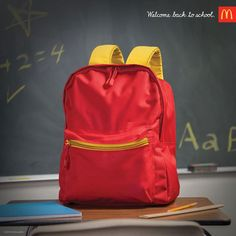 Clever McDonalds 'Back To School' Ad Creates Fun Visual Illusions