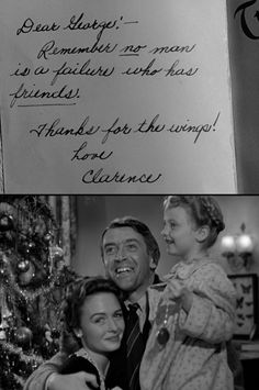 No Holiday Is Complete Without It S A Wonderful Life Jimmy Stewart 1946 Happy Happy