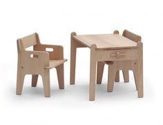 Peter stol og bord, Hans J Wegner
