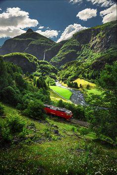 Flåm Railway, Norway