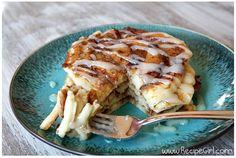 今回は「Recipe girl」から「シナモンロールパンケーキ」のご紹介です。ぷーんとシナモンが香り立つあまーいシナモンロール、...