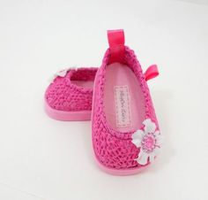 American Girl 18 doll shoes pink LACE slip on flats by MegOriGirls, $10.00