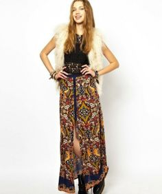 Faldas largas y midi Primavera/Verano 2014: Fotos de los modelos