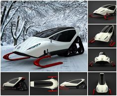 Snowmobile Concept by Michal Bonikowski