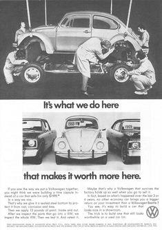 Volkswagen, VW Beetle 1972 Ad Picture #volkswagenvintagecars