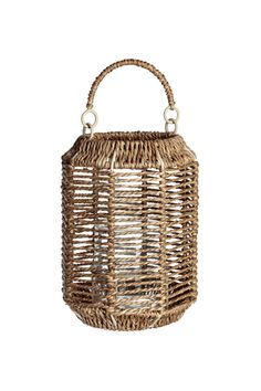 Lanterne en jonc de mer - Naturel - Home All | H&M FR 1