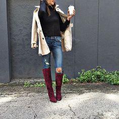 Farylrobin Jane Tall Boots #Anthropologie #MyAnthroPhoto