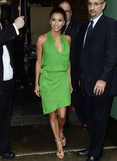 Eva Longoria Photos: Eva Longoria Is Stunning In Green