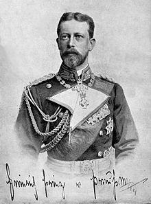 Enrico di Prussia maritato con la nipote della Regina Vittoria Irene figlia di Alice e Luigi IV d'Assia .Enrico era figlio di Federico III e Vittoria, figlia della Regina Vittoriae quindi cugino di Irene