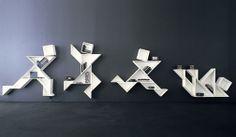 shelf story borad flipbook animated man flexible  modul