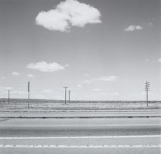 Along Interstate 25, Colorado 1970 by Robert Adams