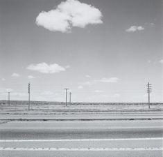Along Interstate 25, Colorado 1970 by Robert Adams