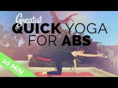 Yoga for Abs for Greatist (10 Min) - Yoga to Strengthen Your Core, 10 Min Ab Routine - YouTube