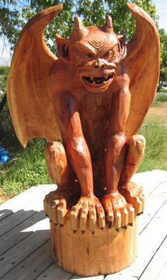 Chainsaw Carving Art | Directory of chainsaw wood carvings and art