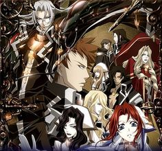 Trinity Blood:   Was introduced to this by Roy when he found it on Netflix.  LOVE IT!! ^_^