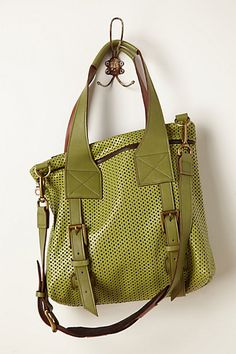 Beautiful green! Small Arvada Tote #anthropologie