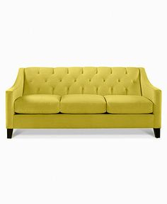 "Chloe Fabric Sofa: Custom Colors, 76""W x 36""D x 34""H - Couches & Sofas love this color. this may be it. Did not see this color at store Love it!!"