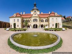 Castle Nebilovy Manor Houses, Czech Republic, Exterior Design, Castles, Scotland, England, Europe, House Styles, World