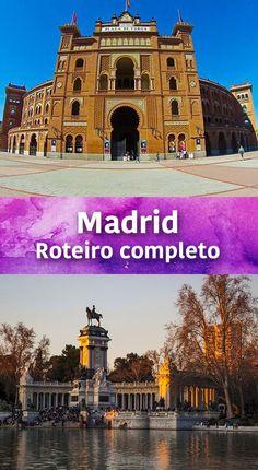 Roteiro completo de Madrid! Ficamos 5 dias na capital da Espanha e contamos para vocês quais lugares são imperdíveis e muitas dicasm