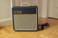 Vox AC4C1-BL 4-Watt Tube Amp 2013 Blue | Reverb