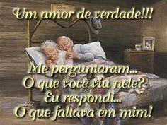 Frases do Facebook - Amor Verdadeiro - Pontos de Vista
