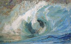 Fiona's Wave, 2006, Maps on wood panel by Matthew Cusick