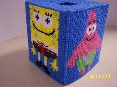 Sponge Bob tissue box