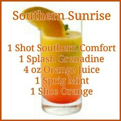 Southern Sunrise - this might be my new jam!