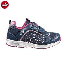 Lico Mädchen Shine V Blinky Sneakers, Blau (Marine/Pink), 23 EU - Lico schuhe (*Partner-Link)