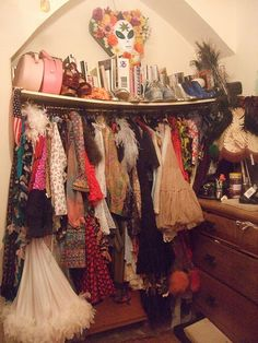 completely fun and fabulous closet
