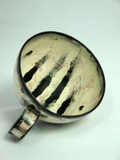 Large Handmade Earthenware coffee tea cup  16oz by AtwaterCeramics    Olia Lamar