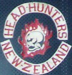 Head Hunters MC (Motorcycle Club) - One Percenter Bikers Biker Clubs, Motorcycle Clubs, Westlake Girls, 45 Caliber Pistol, Head Hunter, King Cobra, Hells Angels, Harley Davidson Motorcycles, New Zealand
