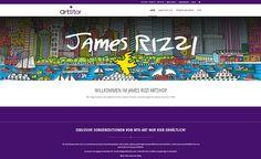 Neue Website online. Wer James Rizzi liebt, sollte einmal vorbeischauen: http://www.born-design.de/eroeffnung-des-james-rizzi-artshops-responsive-webdesign